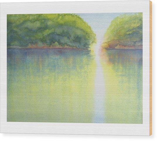 Mangrove Light Wood Print