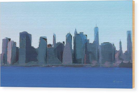 Manhattan 2014 Wood Print