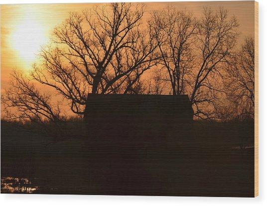 March Sunrise5 Wood Print by Jennifer  King