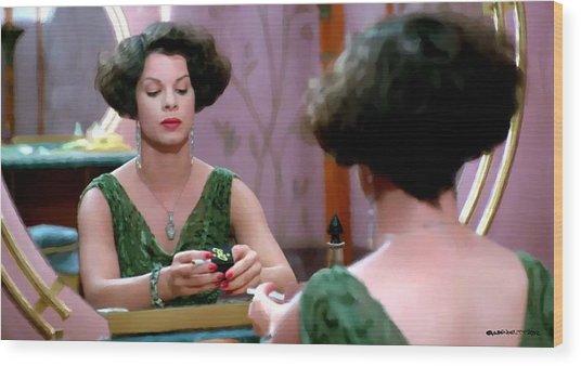 Marcia Gay Harden As Verna Bernbaum In The Film Miller S Crossing By Joel And Ethan Coen Wood Print