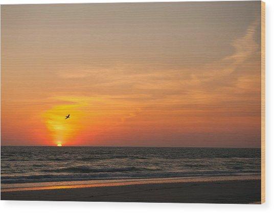 Marco Sunset Wood Print