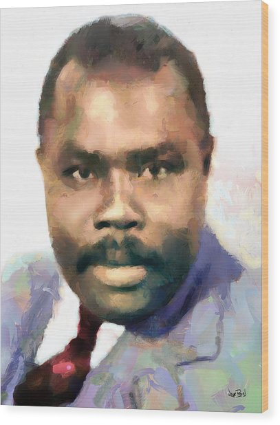 Marcus Garvey Wood Print
