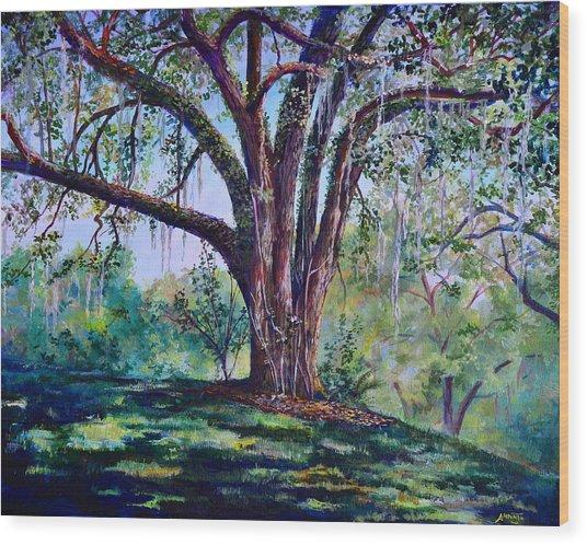 Marcus Oak Wood Print