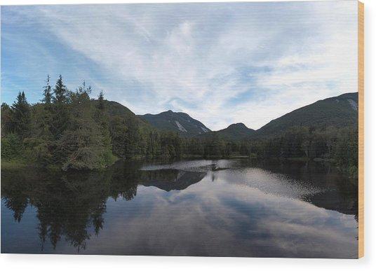 Marcy Dam Pond Wood Print
