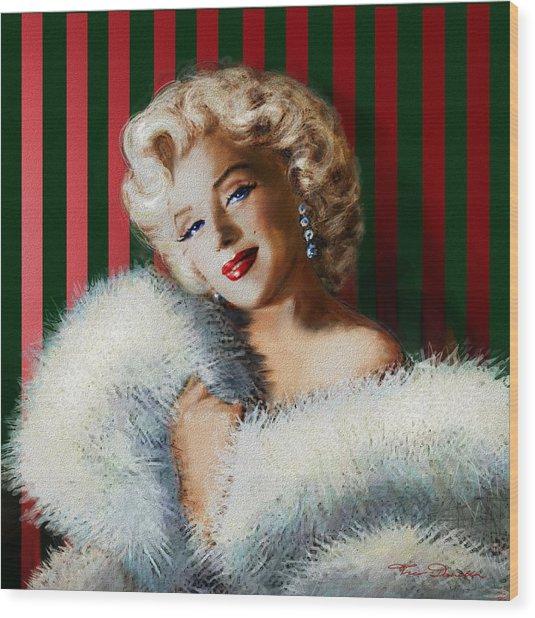 Marilyn 126 D 3 Wood Print