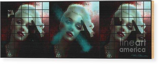 Marilyn 128 Tryp  Wood Print
