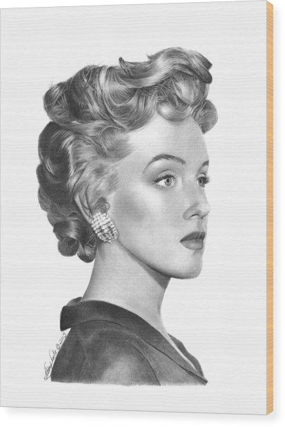 Marilyn Monroe - 014 Wood Print