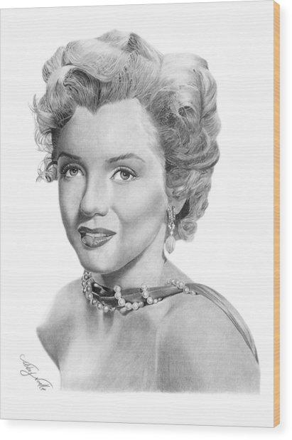 Marilyn Monroe - 016 Wood Print