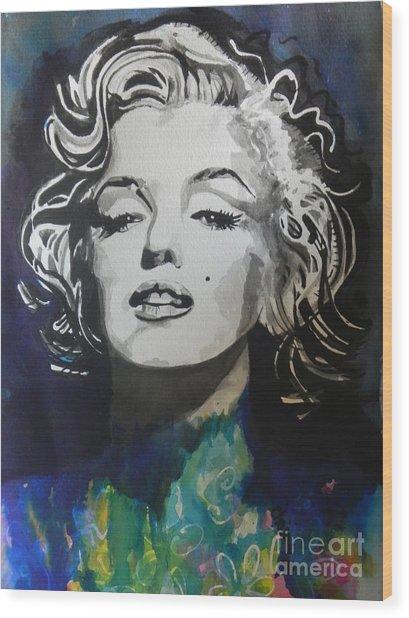Marilyn Monroe..2 Wood Print