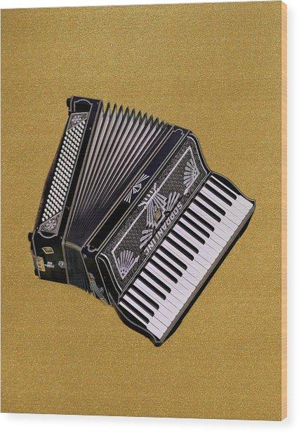 Marilyn's Accordion Wood Print