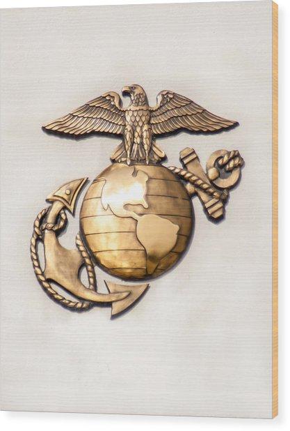 Marine Ega Wood Print