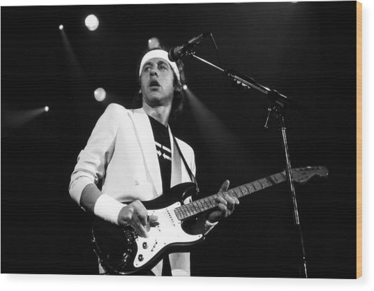 Mark Knopfler  Wood Print