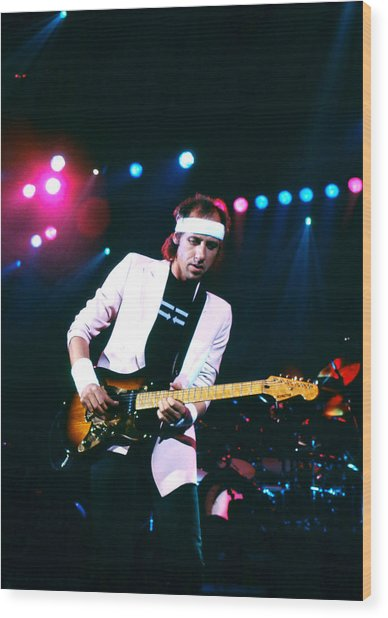 Mark Knopfler I Wood Print