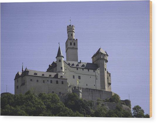 Marksburg Castle 18 Wood Print