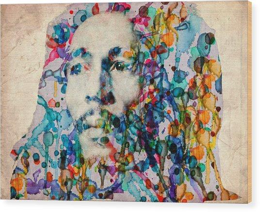 Marley 2 Wood Print