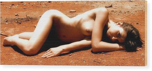 Mars Needs Women Wood Print by Charles Oscar
