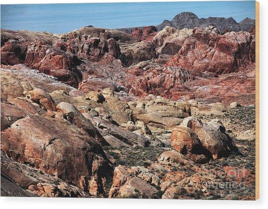 Mars On Earth Wood Print by John Rizzuto