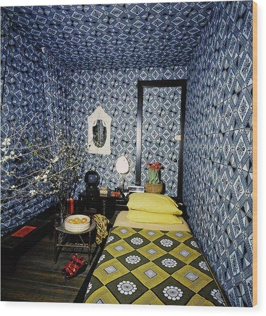Mary Mcfadden's Bedroom Wood Print