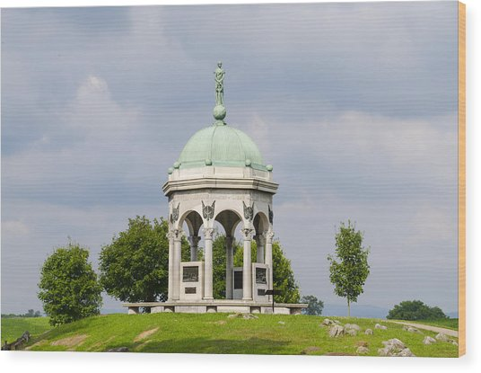Maryland Monument - Antietam National Battlefield Wood Print