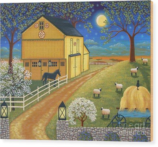 Mascot Mills Barn Wood Print