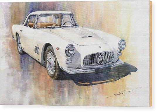 Maserati 3500gt Coupe Wood Print