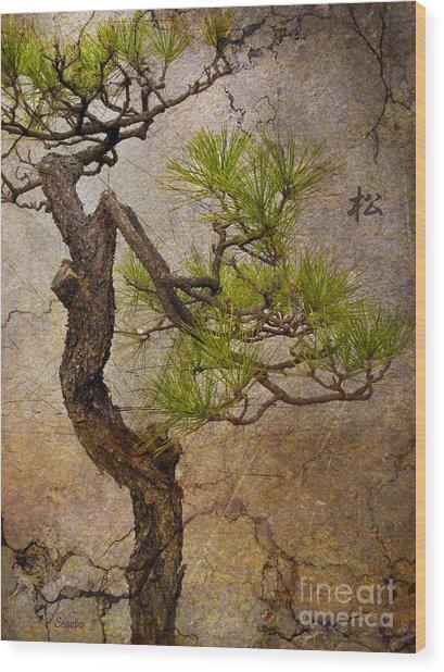 Matsu Wood Print