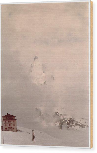 Matterhorn Circa 1970 Wood Print