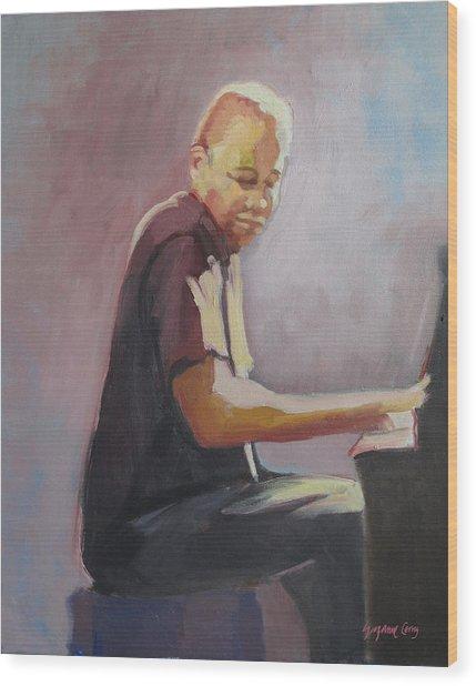 Matthew Shipp New York Pianist Wood Print