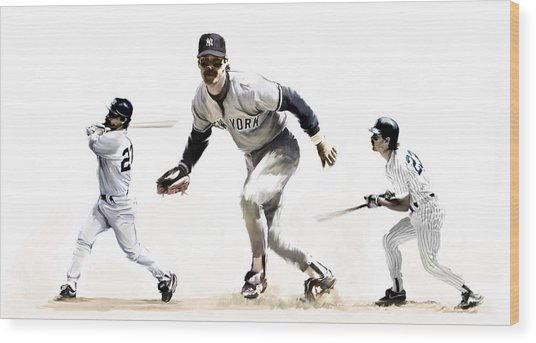 Mattingly Don Mattingly Wood Print
