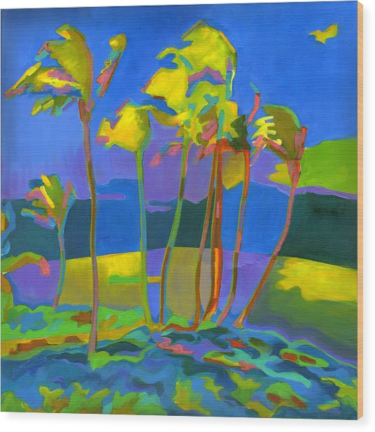 Maui Breeze Wood Print