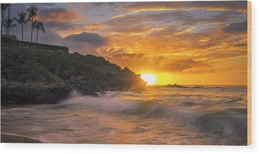 Maui Magic Wood Print