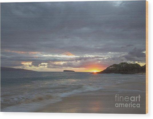 Maui Wood Print