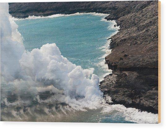 Mauna Loa Wood Print