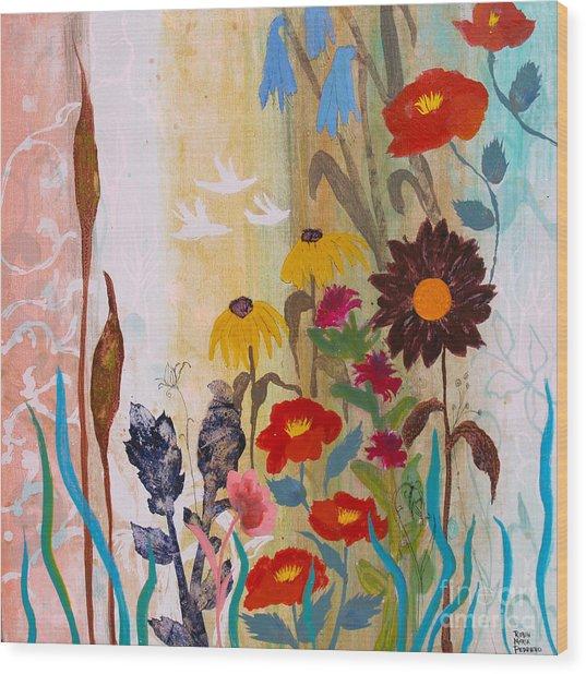 May Melody Wood Print