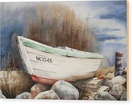Mcg45 Wood Print