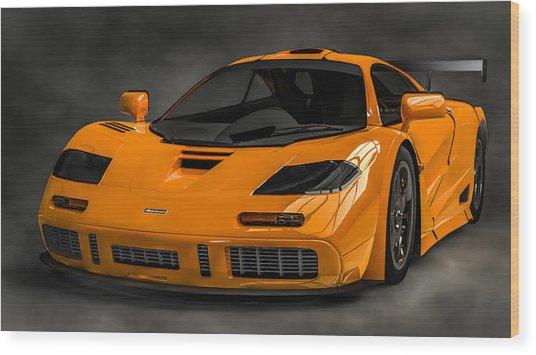 Mclaren F1 Lm Wood Print