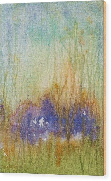 Meadow's Edge Wood Print