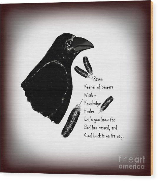 Meaning Of Raven Photograph by Eva Thomas