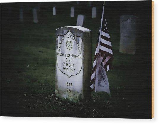 Medal Of Honor Wood Print