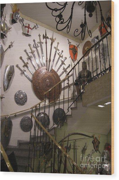 Medieval Spanish Weaponry Wood Print