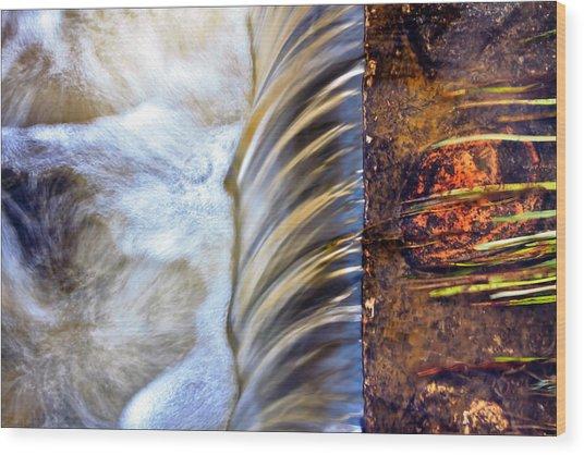 Zen Weir Wood Print