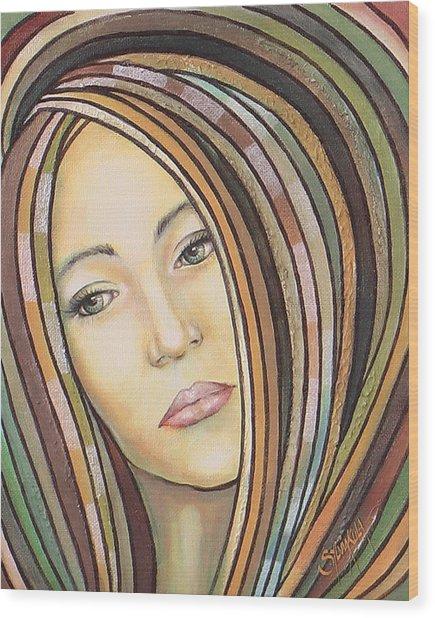 Melancholy 300308 Wood Print