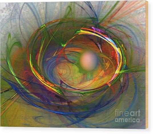 Melting Pot-abstract Art Wood Print
