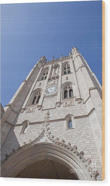 Memorial Union Clock Tower Wood Print