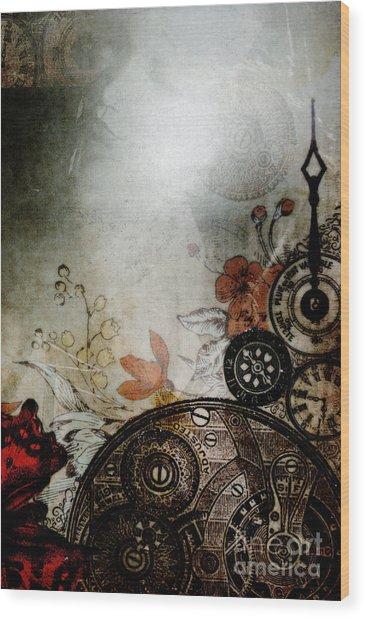 Memories Unlocked Wood Print by Sharon Kalstek-Coty