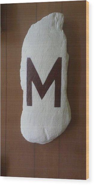Menominee Maroons Wood Print