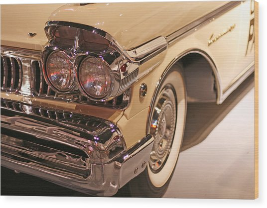 Mercury Shines Wood Print
