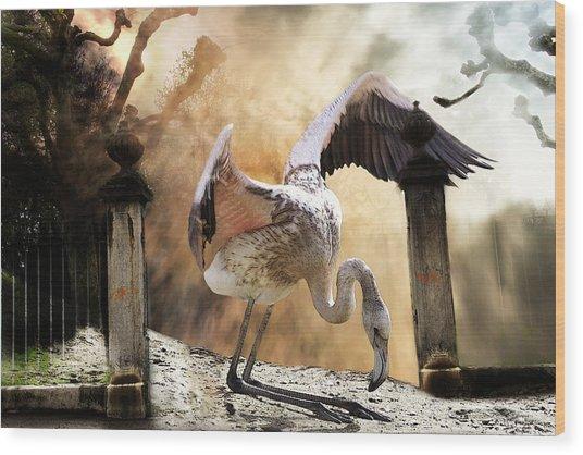 Mercy Wood Print