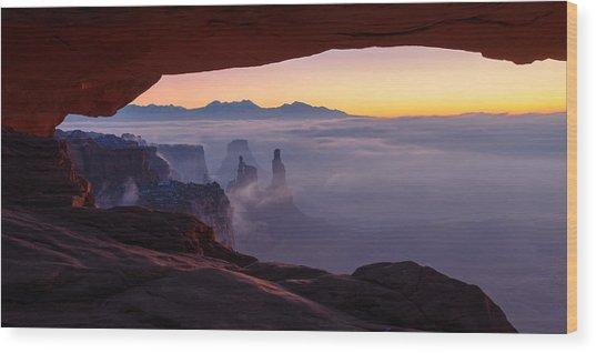 Mesa Mist Wood Print