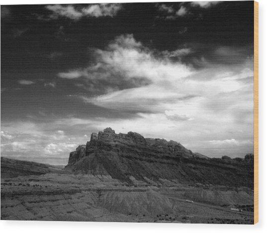 Mesa Sky Wood Print